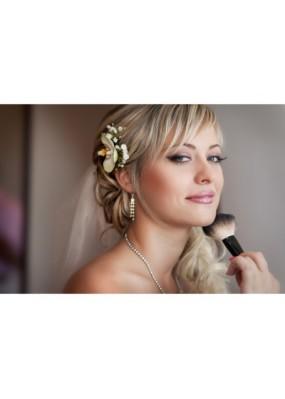 Maquillage de mariage avec essai