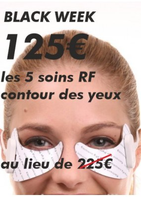 Soins Radio Fréquence Contour des Yeux Black Friday